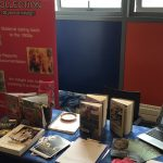 Photo from the innovation event - Library stand