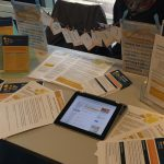 Photo from the innovation event - Skills for Learning stand
