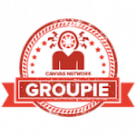 Canvas Network Groupie badge