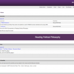 Screenshot of the classic home page in SunSpace