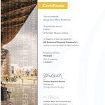 FHEA certificate