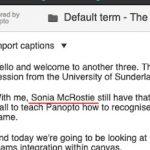 Panopto Fail 3 - Sonia McRostie
