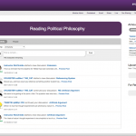 Screenshot of the Social Learning page in SunSpace