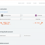 Screenshot showing Zapier testing, 1